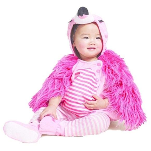 flamingo plush baby halloween costume 0 6 months